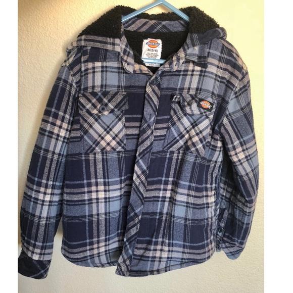 d8e0f4288 Dickies Jackets & Coats   Plaid Flannel Jacket   Poshmark